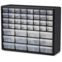 $24.57 (原价$40.76) Akro-Mils 迷你32个+中号12个抽屉 储物收纳盒