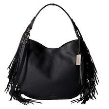 时尚优雅!COACH Fringe Coach Nomad Hobo女士单肩包 $229.99(转运到手约¥1720)