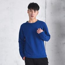 网易严选 男式纯棉毛圈休闲口袋长袖T恤 ¥99
