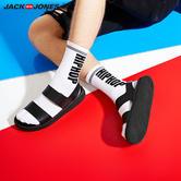 杰克琼斯潮流魔术贴透气沙滩凉鞋 199.5元(赠3双袜子)