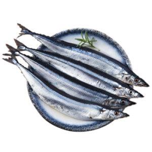 简单滋味 冷冻俄罗斯秋刀鱼 450g 3-4条 袋装 烧烤食材 海鲜水产 *10件 69元(合6.9元/件)
