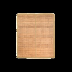 网易严选 天然宽篾头层青碳化竹凉席 抹茶色 180*200cm 139元包邮