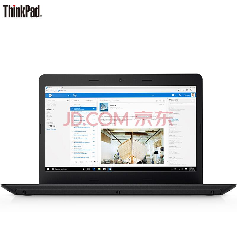 ThinkPad 联想 E470(20H1001NCD)14英寸笔记本电脑¥4299