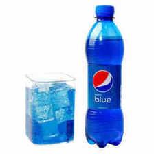 ¥15.8 巴厘岛进口百事可乐blue蓝色可乐饮料梅子味碳酸饮料网红饮料瓶装450m
