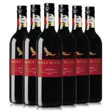 ¥264 澳大利亚进口 纷赋红牌设拉子歌海娜干红葡萄酒 750ml*6瓶 整箱装
