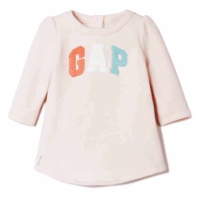 Gap 女婴儿 直筒连衣裙 79元包邮(