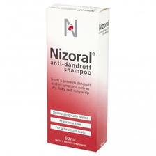 强效版更管用!Nizoral 仁山利舒 止痒去屑防脱洗发水 60ML体验装红瓶版 亚马