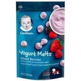 Gerber 嘉宝 混合莓果酸奶溶豆宝宝零食 三段 28g *8件 200元含税包邮 合25元/件