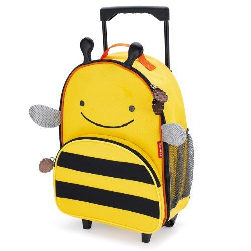 美国Skip Hop可爱动物园小孩专用行李箱书包-小蜜蜂SH212305 269元