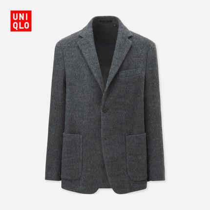 20日0点预售: UNIQLO 优衣库 401386 男士混纺外套 249.5元包邮(25元定金,双11付尾款)