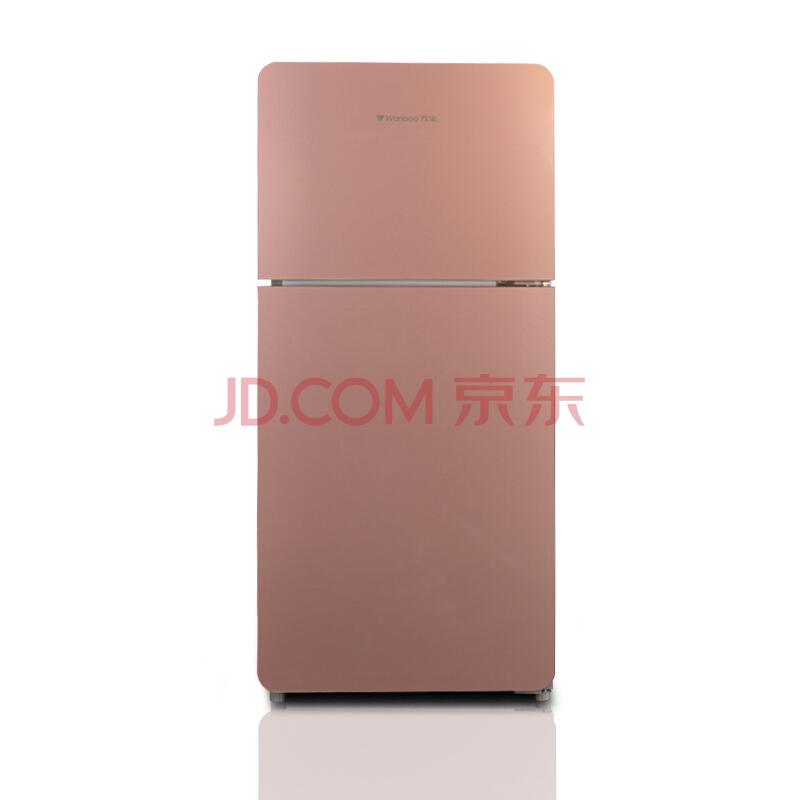 限津鲁辽!Wanbao万宝 BCD-106KC 106升玻璃双门冰箱¥459