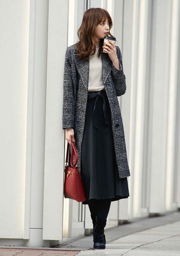 GU 极优 295183 女士羊毛混纺大衣 299元