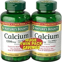 Nature's Bounty自然之宝 液体钙胶囊 220粒(两瓶)