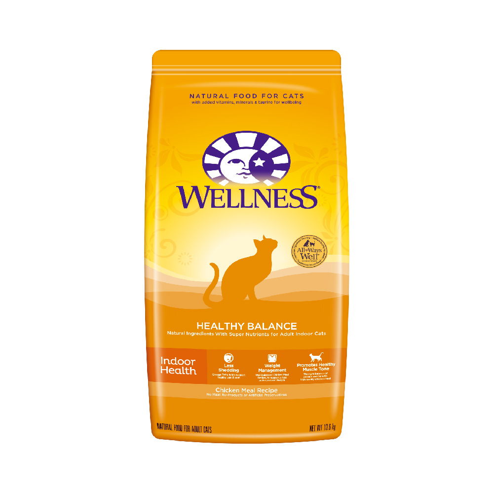Wellness 天然室内成猫粮 健体配方 13.6kg 630元