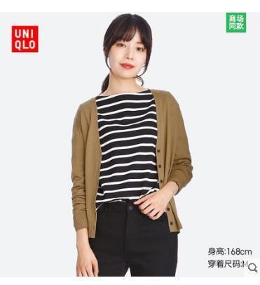UNIQLO 优衣库 400437 女士美利奴开衫 99元99元