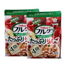 卡乐比株式会社水果麦片苹果多多口味700g*2袋装 限时好价112元包邮含税