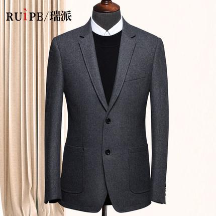 RUIPE 男士 羊毛呢 西装外套 158元
