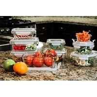 $25.99 Glasslock 烤箱耐热玻璃饭盒18件套