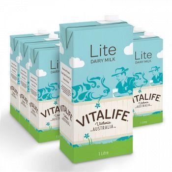 VITALIFE 低脂UHT牛奶 1L*12盒 *3件