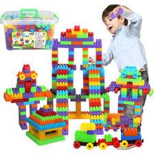 萌宝宝 儿童玩具大颗粒益智拼插积木180粒  券后8.9元