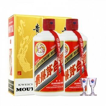 天猫 限北京: 茅台 飞天53°贵州茅台酒酱香型白酒500ml*2瓶 2998元包邮