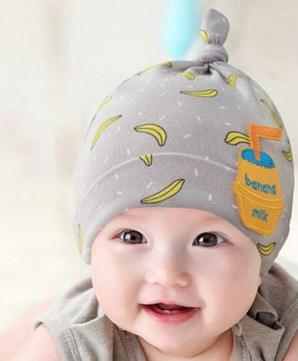 乖孩子 韩版初生宝宝套头帽 5.2元包邮(10.2-5)5.2元
