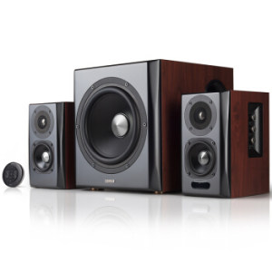 漫步者(EDIFIER)S201 全功能HIFI有源2.1音箱 音响 电脑音箱 电视音响999元