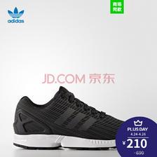 ¥210 adidas 阿迪达斯 三叶草 男女 ZX FLUX 经典鞋 BB2158 如图 36