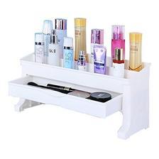 宝优妮 卧室桌面收纳盒 DQ-1401-1 化妆品收纳架 多功能化妆盒 卫浴用具置物