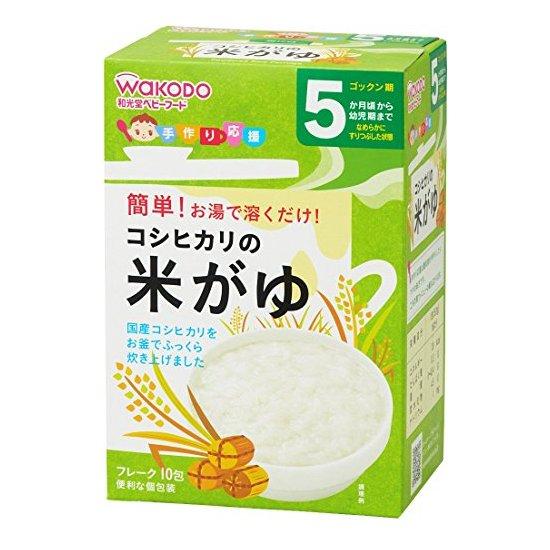 和光堂 粳米粥(5克×10包)×1盒