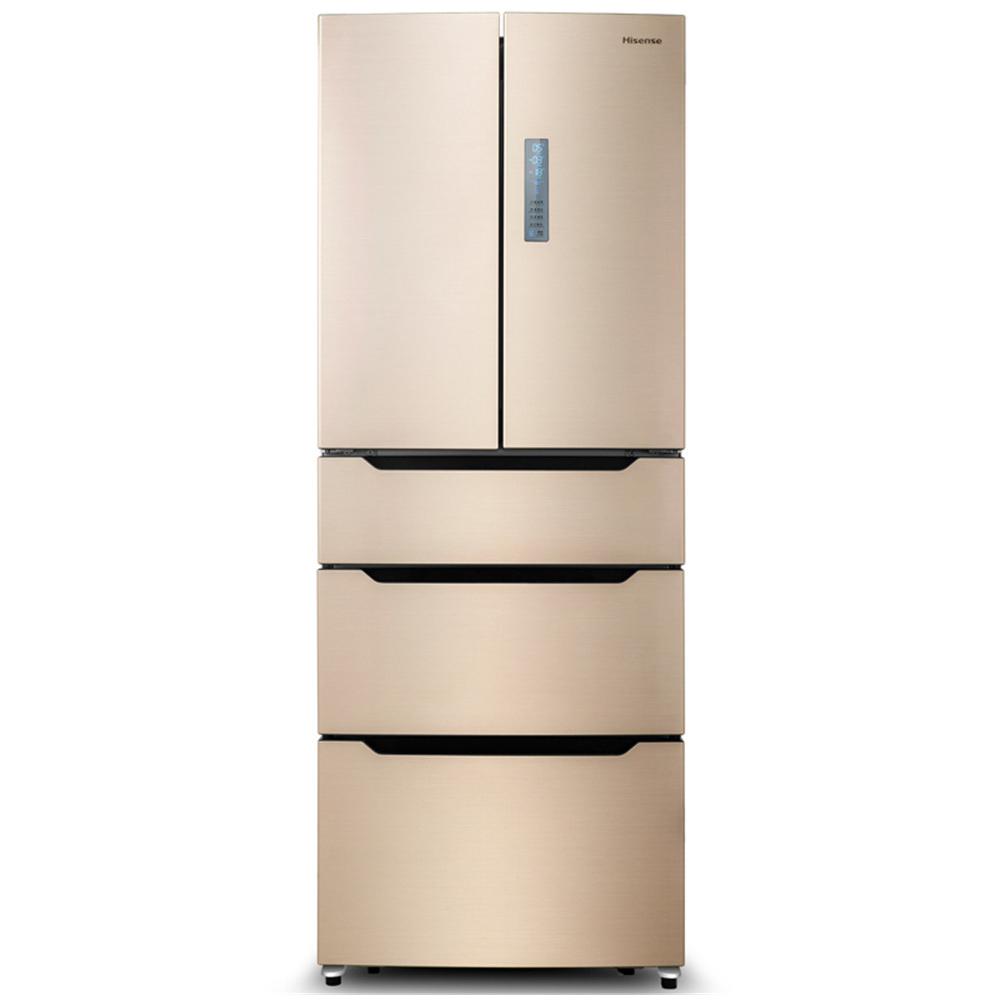 海信Hisense BCD-412WTDGVBPI 412立升 多门 冰箱 时尚外观 波光金¥4799