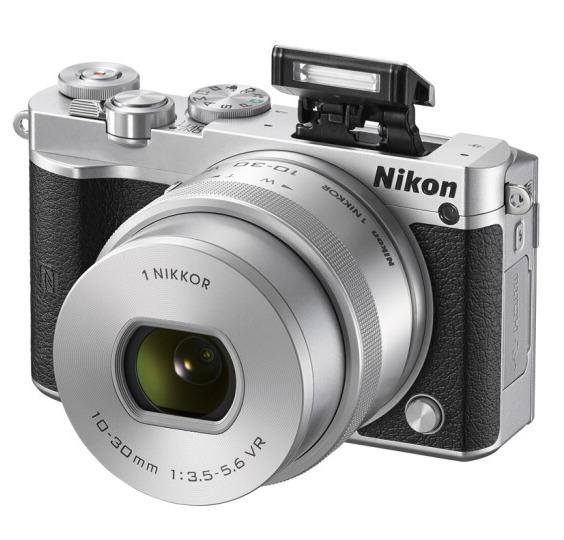 ¥2199 Nikon 尼康 J5+1 微单相机 尼克尔 VR防抖 10-30mm f/3.5-5.6 PD镜头¥219910-303.5-5.6