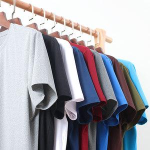 大角鹿 男士夏季纯色短袖 14.8元包邮 历史最低价