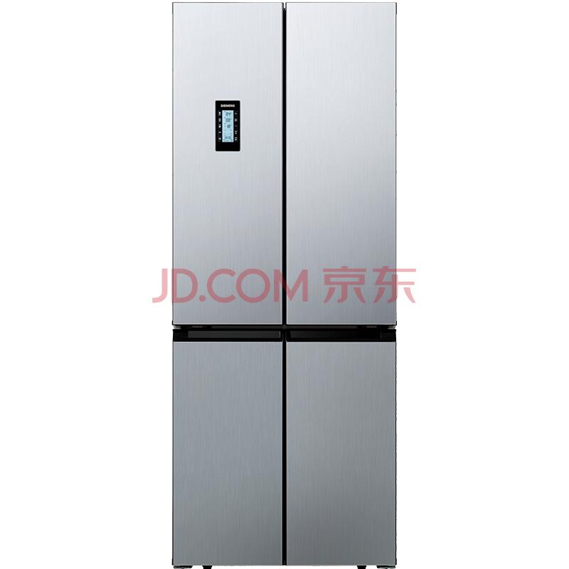 历史新低: SIEMENS 西门子 BCD-452W(KM46FA09TI) 452升 变频混冷 十字对开门多门冰箱 7490元包邮