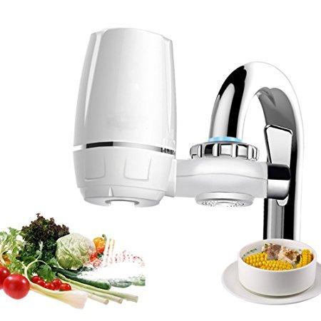 PERYOU 厨房水龙头过滤器 自来水净化器滤水器直饮净水机 家用净水器2台119元