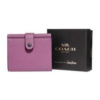 $77.6 (原价$195) Coach 1941 紫色女士小钱包热卖