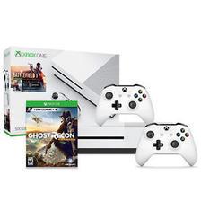 Microsoft 微软 Xbox One S 500GB《战地 1》同捆版游戏主机+额外手柄+《幽灵行动荒