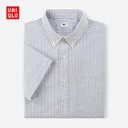 UNIQLO优衣库弹力泡泡纱条纹衬衫404410 129元包邮'