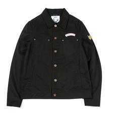 帅气有型!DUSTY 男士黑色单排扣工装复古夹克 177元包邮(需用券)