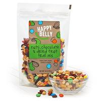$4.87 销量冠军 Happy Belly 巧克力坚果水果干混合零食 16 oz