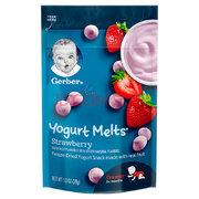 某东PLUS会员: Gerber 嘉宝 草莓酸奶溶豆宝宝 三段 28g *16件 187.98元含税包邮(双重优惠)'
