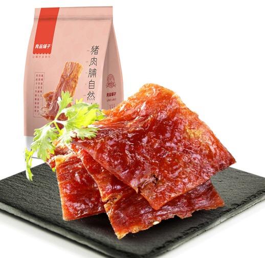 ¥6.3 良品铺子 风味猪肉脯自然片 100g