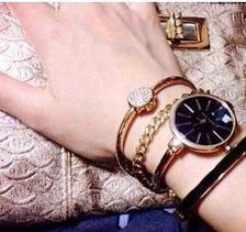 ¥450.55 ANNE KLEIN 安妮·克莱因 女款时装腕表手镯套装 AK/1470