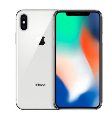 苹果(Apple) iPhone X 智能手机 64GB 银色 ¥7988