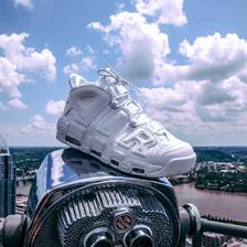 纯白大AIR!Nike Air More Uptempo '96 耐克官网1299元有售
