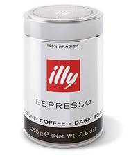 59.9元 意利(illy)浓缩咖啡粉(深度烘焙)250g(亚马逊进口直采,意大利品牌)