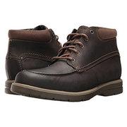 休闲百搭!Clarks Vossen Mid 男士踝靴 $22(到手约¥309)'