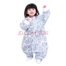 ¥84.5 象宝宝(elepbaby)婴儿睡袋 宝宝秋冬款加厚针织棉分腿睡袋 儿童防踢