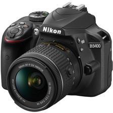 ¥3099 尼康单反相机 D3400 AFP DX 18-55mm/3.5-5.6G VR