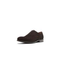 时尚休闲!Massimo Dutti 男鞋 棕色绒面牛皮牛津鞋 好价790元包邮